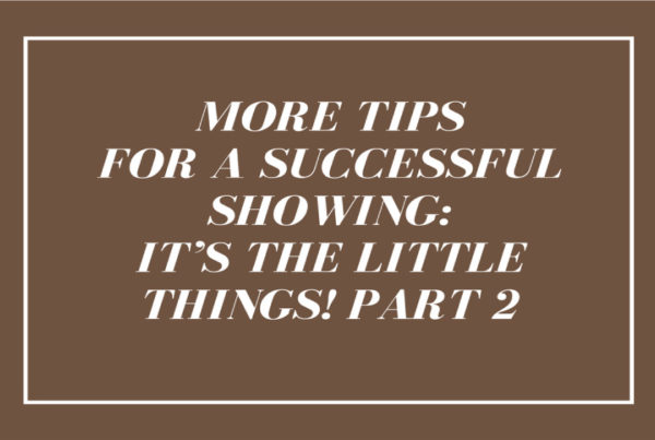 More-Tips-for-a-successfull-showing